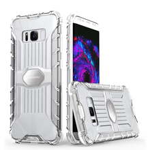 High Quality Design hybrid protective clear case for galaxy s8,for samsung s8 clear cover,s8 rugged clear case