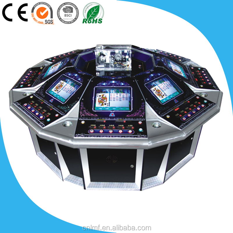 High Definition Five Stars Electronic Roulette Table Gambling Game Machine For Sale