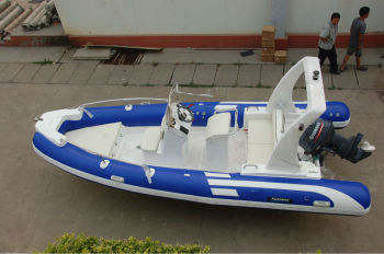 5.8m RIB boat rigid inflatable boat RIB580