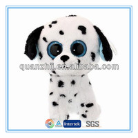Stuffed animals with big eyes dog design