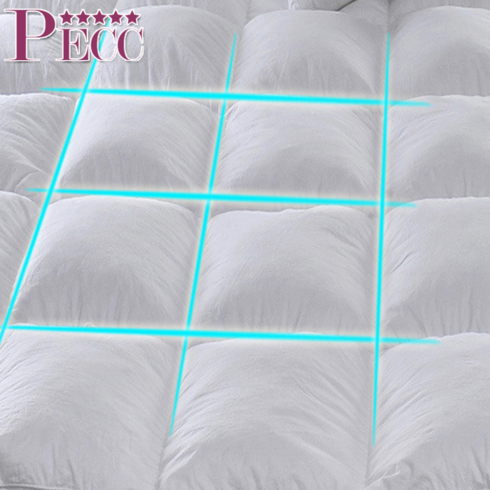 Wholesale Super Soft Hotel Luxurious Cheap Feather Mattress Pad Topper