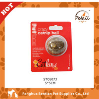 Cat snacks Round pure catnip ball