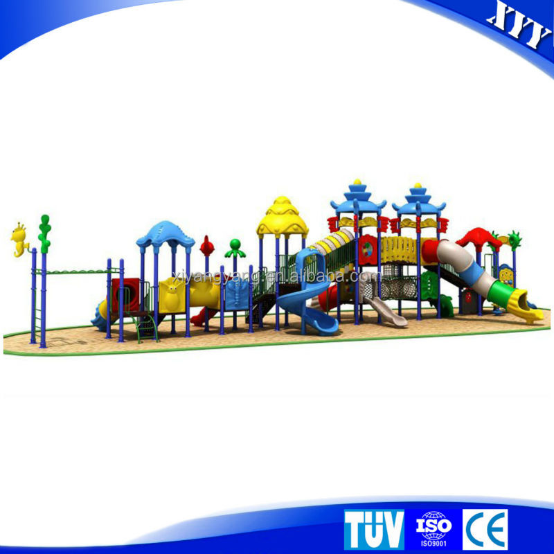 rotationamoulding outdoor playground plastic kids play center