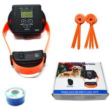 Pet accessories in ground boundary fencing security rechargeable electronic dog fence