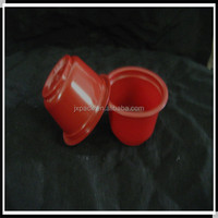Reusable plastic bubble tea cup