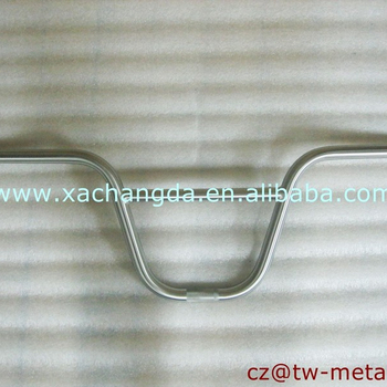 OEM Titanium BMX bike handlerbar Customized hanale bar
