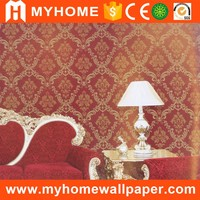 Classic cheap washable natural light color designer wallpaper