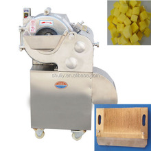 Fruit and vegetable cube cutting machine for cube 3-15mm/commercial vegetable cubes cutting machine price