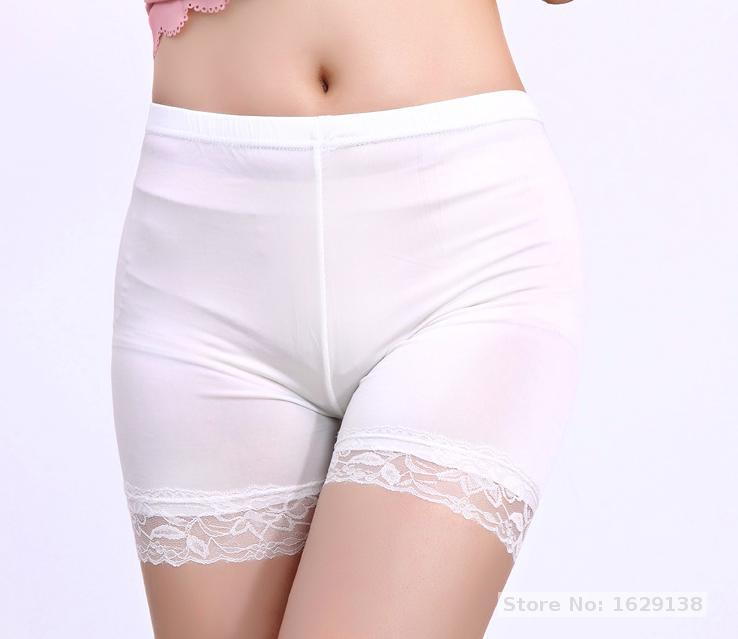 Ice Silk Breathable Anti-static Nonradiative Mildewproof Sexy Hot Pants Safety Shorts Lady Pants Shorts Underwear Girl