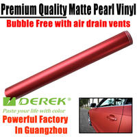 DEREK CAR STICKER Guarantee 3 Years Matt Chrome Metallic Vinyl Film Car Wrapping