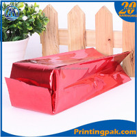 Photo Chips Snack Plastic Bags,Clear Packaging Flat Heat Seal Pouch Bags