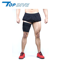Promotes an additional increase in heat neoprene single thigh sleeve