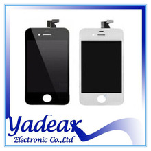 Hot Selling recycle broken lcd screen for iphone 4 touch digitizer