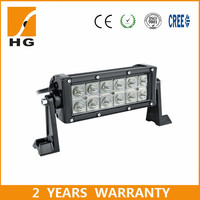 36w 6000k 8 inch Hot Sale Off Road Suv Driving Light Car Truck Led Light Bar