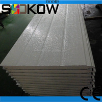 white color garage door panel/white color sectional door panel/white color sectional garage door