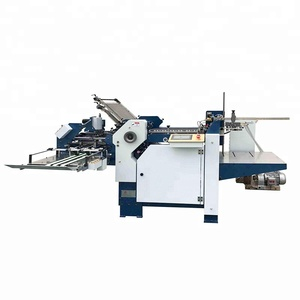 Paper Crease automatic Bend Machine Manual Pleating Machinery