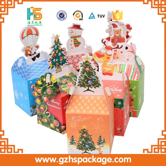 Wholesale custom outdoor christmas decorations gift boxes