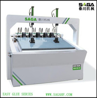 Small size high frequency clamp carrier/woodworking machinery