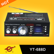12V usb player 220v 5.1 hearing amplifiers price YT-688D BRAND NEW !!