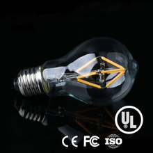 2017 Decorative lighting A19 dimmable LED filament bulbs