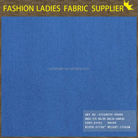 suit fabric with high quality in 35% cotton 65% polyester weave solid canvas fabric wholesale