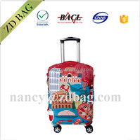Justop Polyester spandex Luggage trolley case Cover,Protectable luggage cover