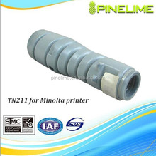 Compatible copier toner cartridge TN211 for Konica Minolta bizhub222/250/282 printer