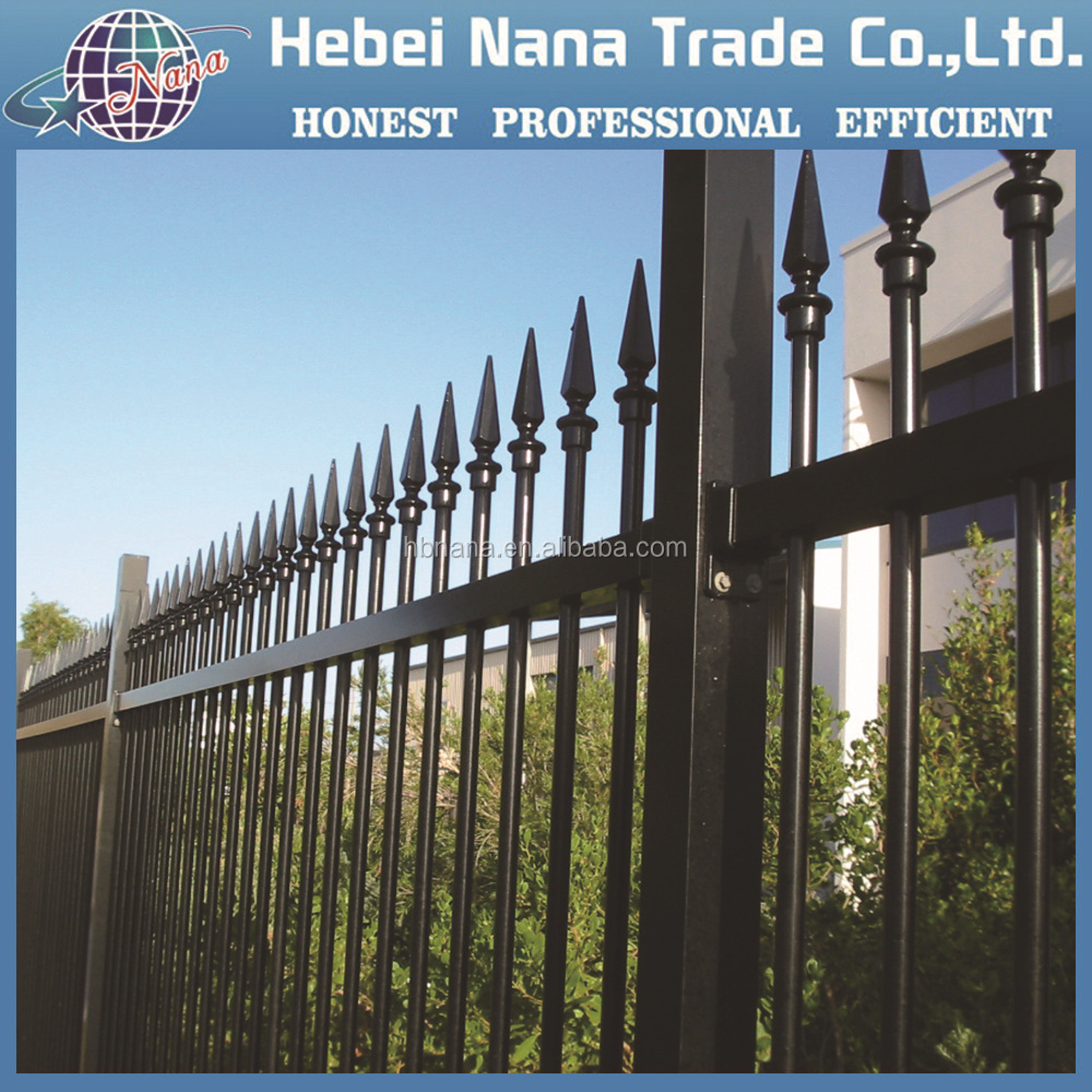 2016 new products customized used wrought iron garden fencing models for sale