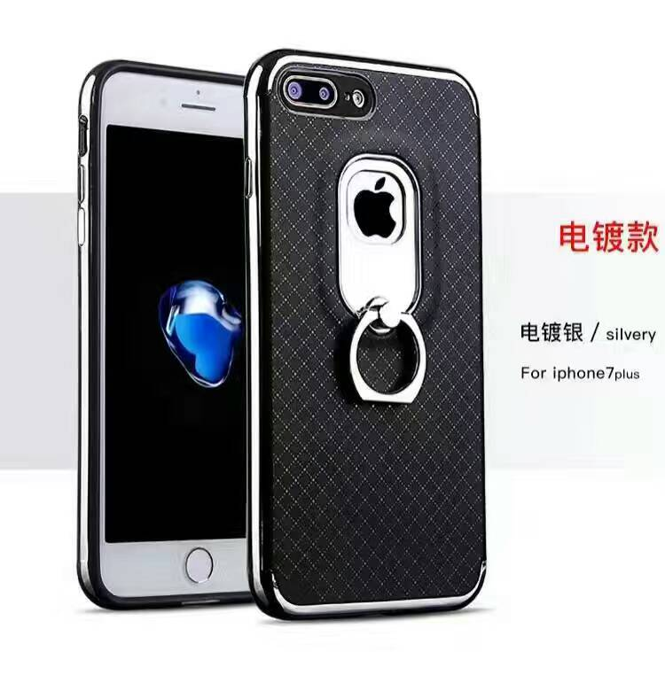 Shookproof Ultra slim lozenge pattern oil paint mobile phone case for Samsung A7 2017