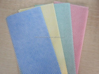 [FACTORY]Soft lint free viscose household nonwoven cleaning cloth/multi-purpose nonwoven cloth/all purpose cloth