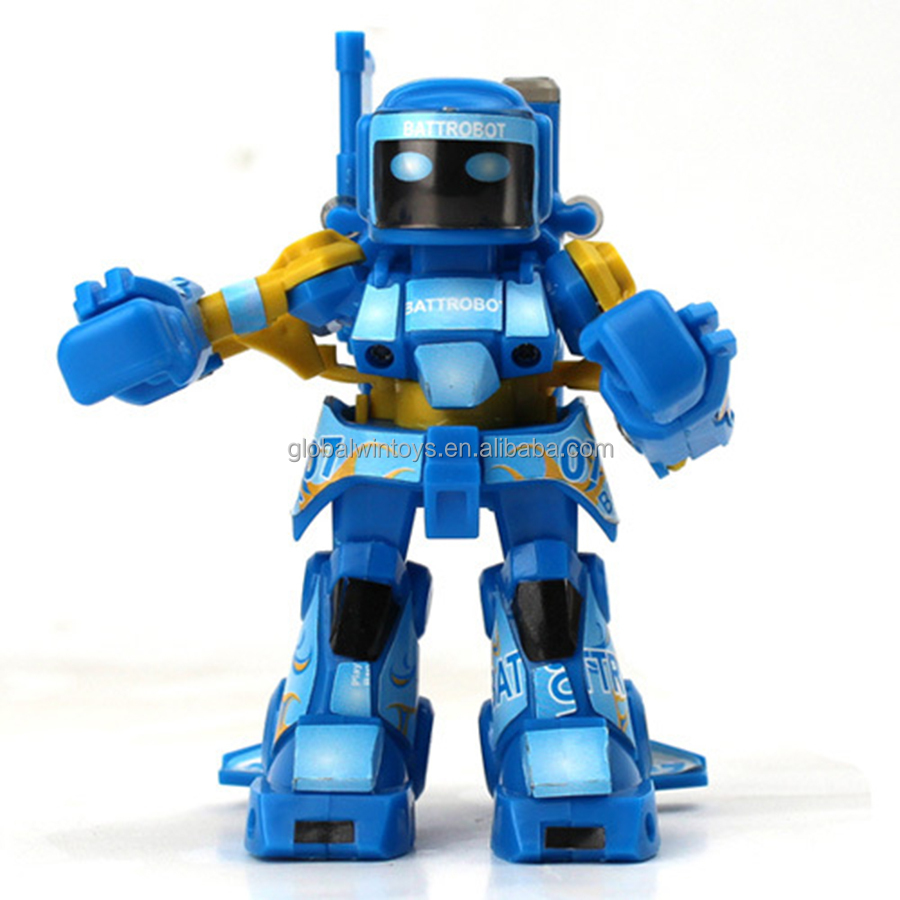 2015 mini toys for promotion,2.4G & infrared rc fighting robot toy GW-T757