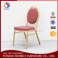 Stacking Hotel Professional Welding Steel Dining Chair