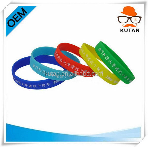 Best quality stylish 2014 tattoo silicone band bracelets