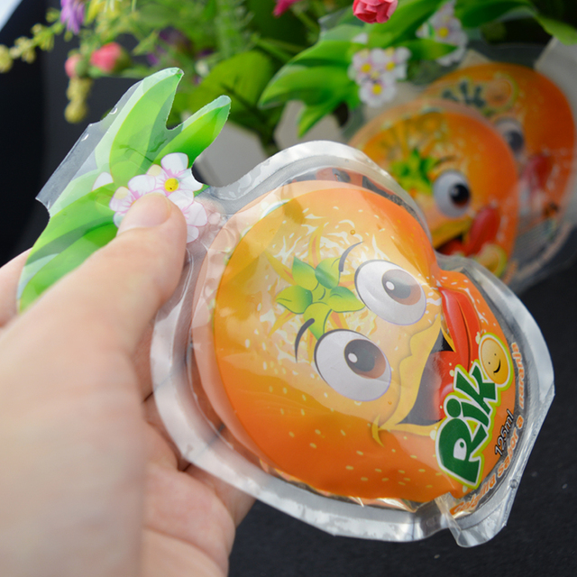 hot selling shaped air biodegradable juice packaging