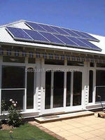5KW off grid solar power tracking system for home electronic items