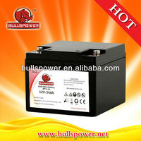 Hot--agm vrla ups battery 12v24ah for inverter
