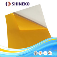Colored self adhesive pvc sheet with 2s PE liner