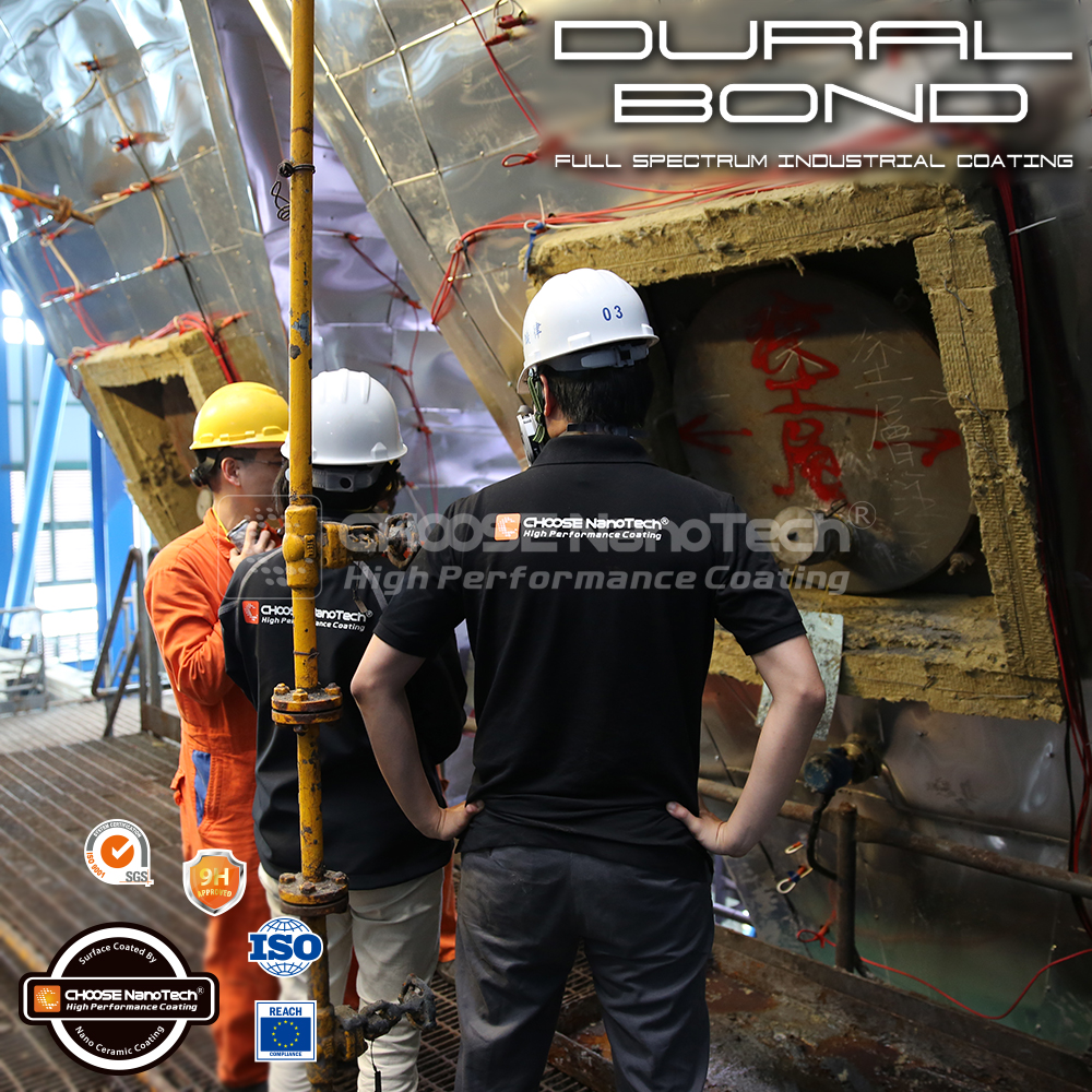 DuralBond X for heavy industry and chemical industry anti-corrosion nano ceramic coating