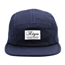 custom 5 panel hats with woven label in sports caps blue 5 panel hats strap back