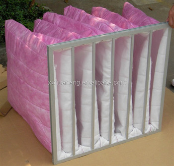 AHU Filter Pocket FIlter Air Bag Filter