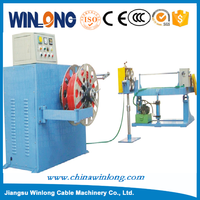 semi-automatic big section coil winding machine
