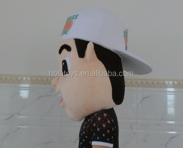 Hola Custom mascot costumes/High quality custom mascot costume factory