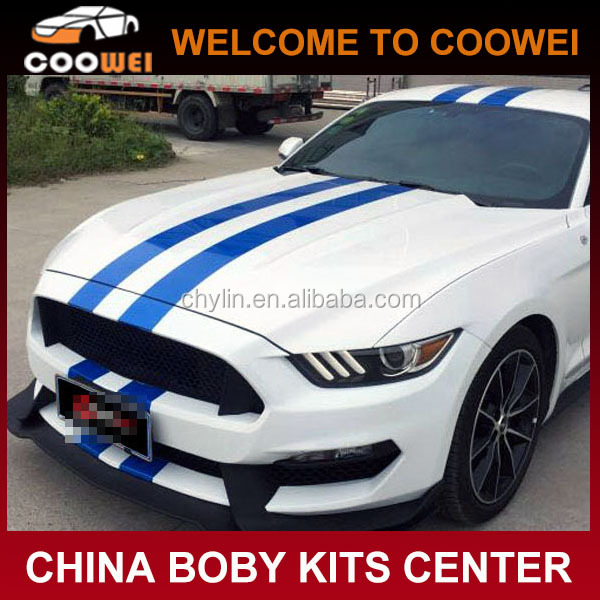 Mustang Shelby GT350R Carbon Fiber Engine Hood for Ford Mustang 2015