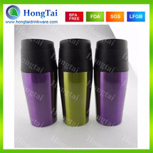 Eco-friendly Best Selling Stainless Steel Thermo Travel Mug With Button Lid