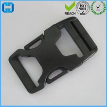 Bag Buckle Curved Side Release Plastic Buckles Black Color Bags Parts Accessories