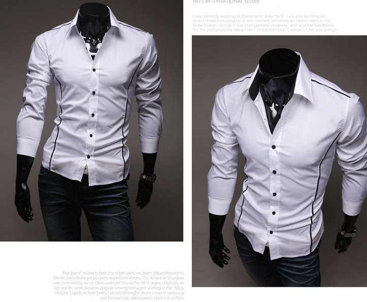 Weight Of Cotton Button Slim Fit Softtextile Dress Shirts Free Shipping