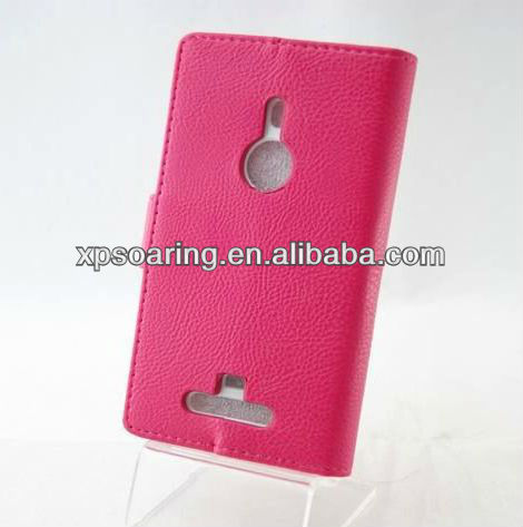 for Nokia lumia N925 mobile phone wallet leather case pouch
