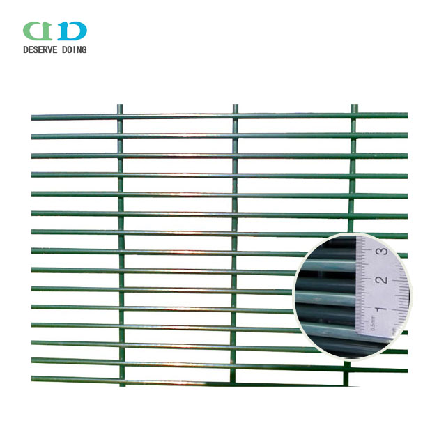 easy assembly cheap 358 anti cut security jail fence manufacture