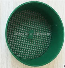 SMALL / LARGE PLASTIC ROUND GREEN GARDEN SIEVE / RIDDLE FOR COMPOST & SOIL