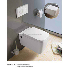 Chaozhou Factory CE certification Ceramic Wall Hung hidden Toilet